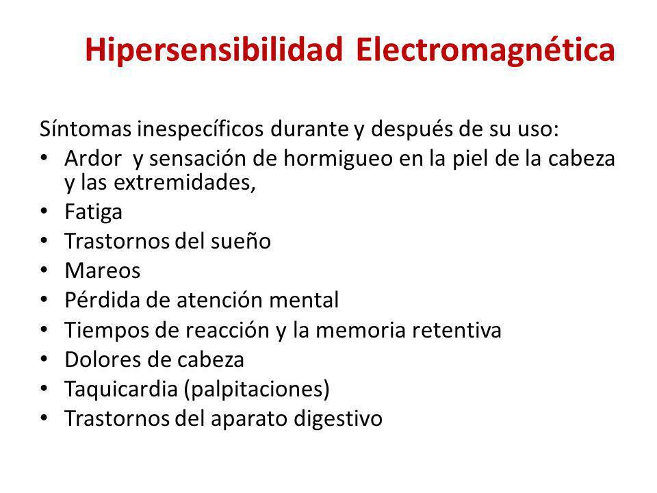 Hipersensibilidad Electromagnética