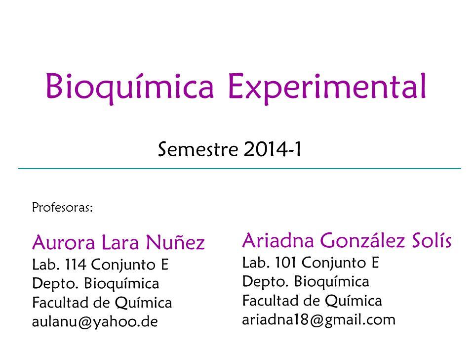 Bioquímica Experimental