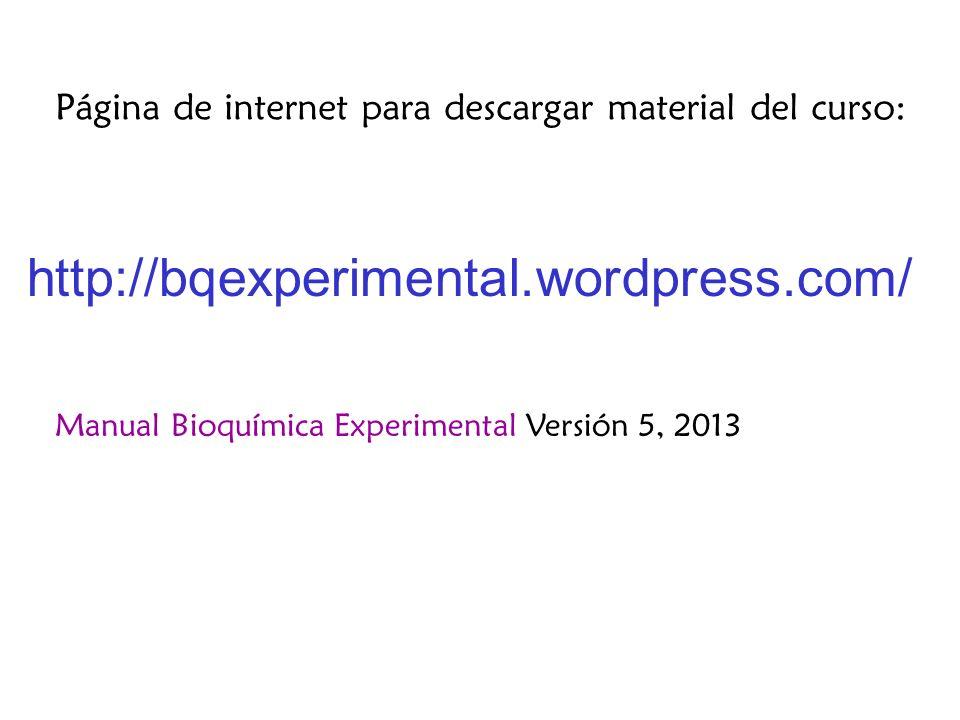 Página de internet para descargar material del curso: