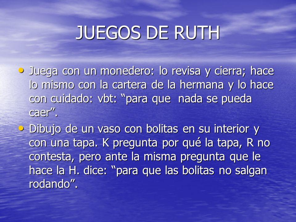 JUEGOS DE RUTH