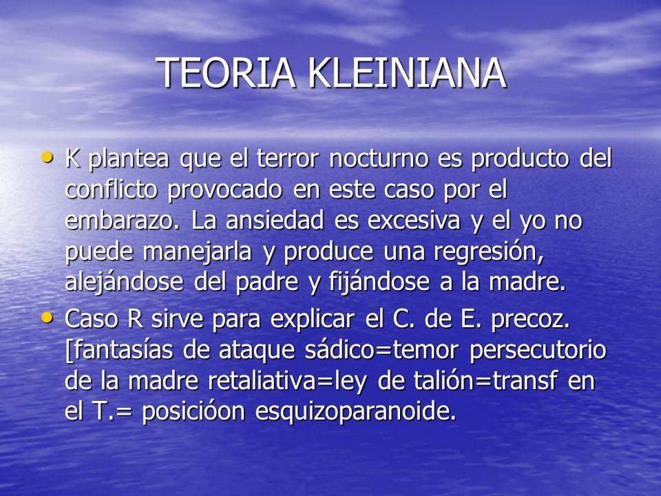 TEORIA KLEINIANA