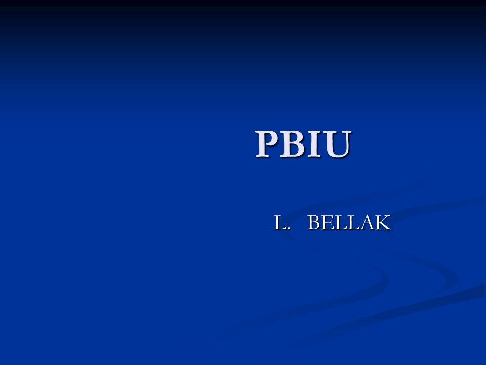 PBIU L. BELLAK
