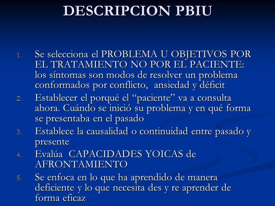 DESCRIPCION PBIU