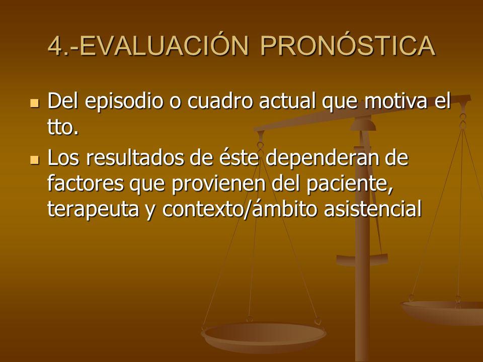 4.-EVALUACIÓN PRONÓSTICA