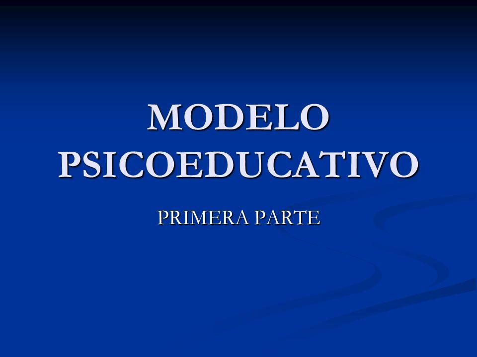 MODELO PSICOEDUCATIVO