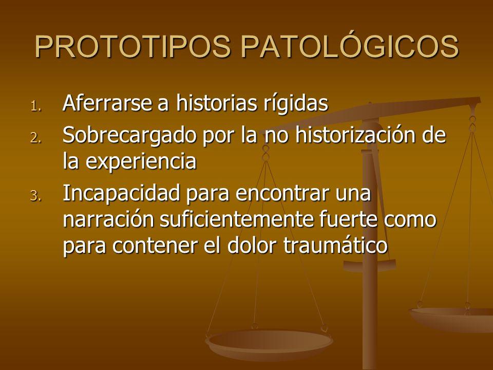 PROTOTIPOS PATOLÓGICOS