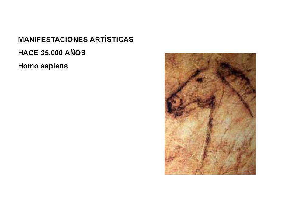 MANIFESTACIONES ARTÍSTICAS