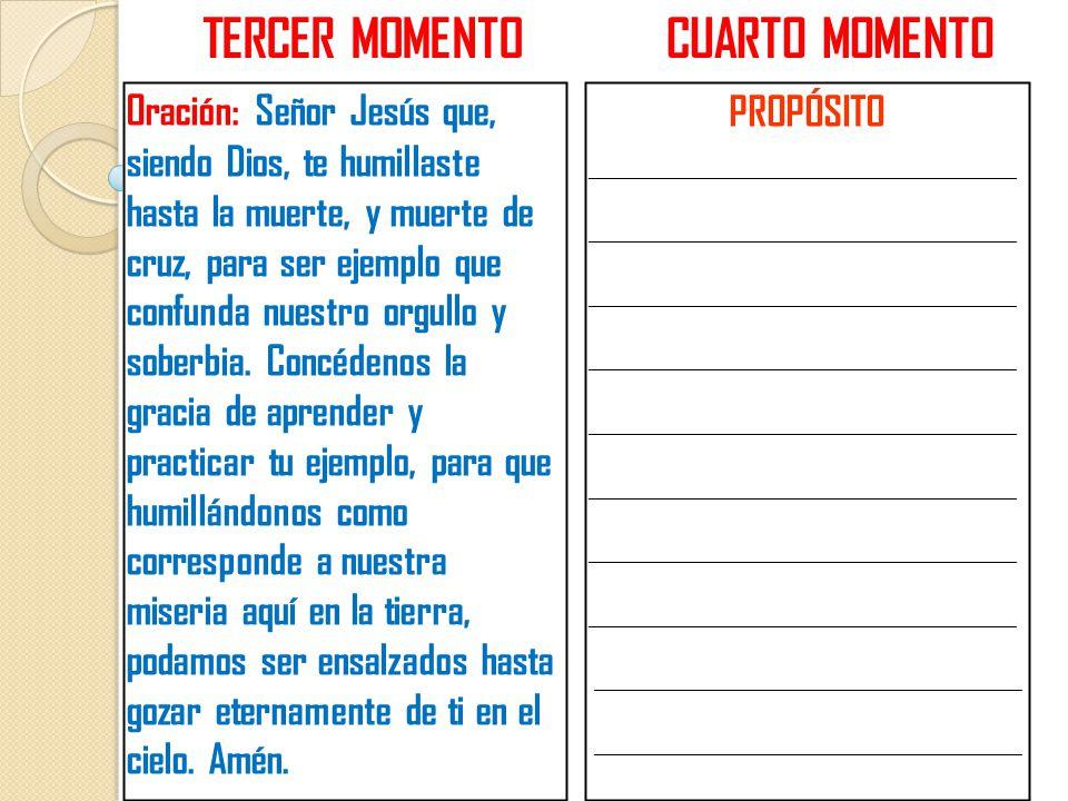 TERCER MOMENTO CUARTO MOMENTO
