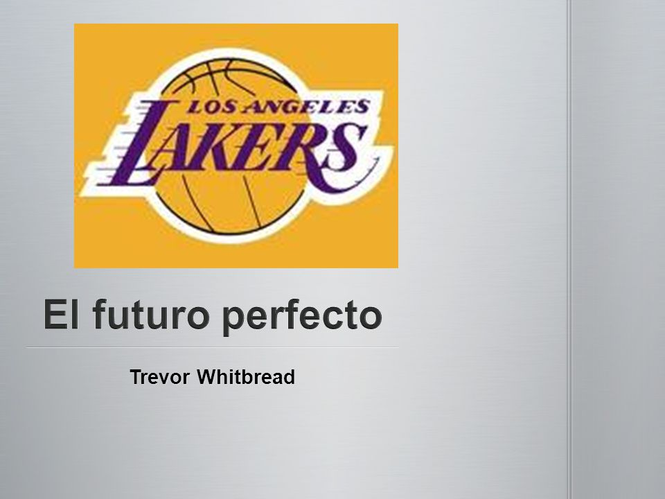 El futuro perfecto Trevor Whitbread