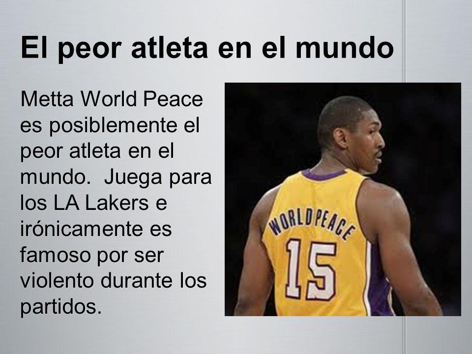 El peor atleta en el mundo