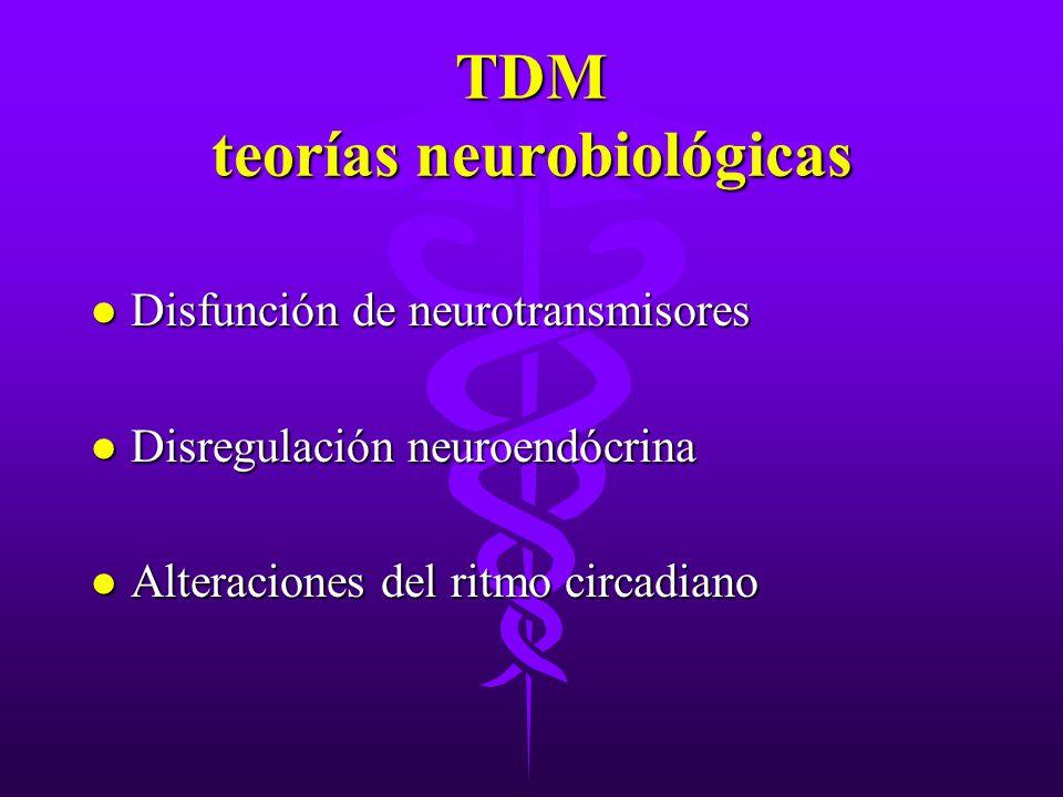 TDM teorías neurobiológicas