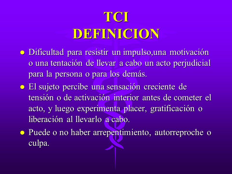 TCI DEFINICION