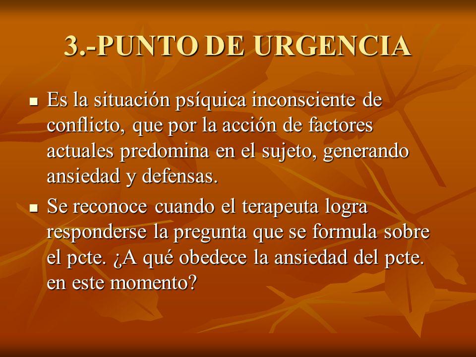 3.-PUNTO DE URGENCIA