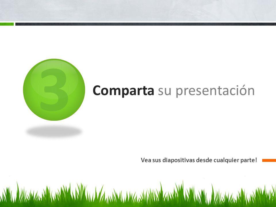 Comparta su presentación