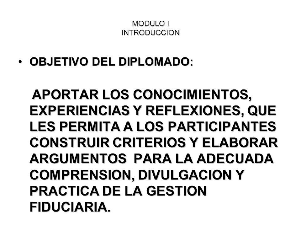 OBJETIVO DEL DIPLOMADO: