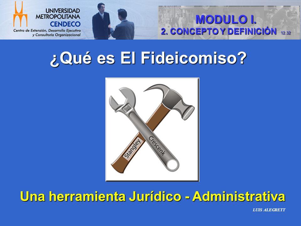 Una herramienta Jurídico - Administrativa