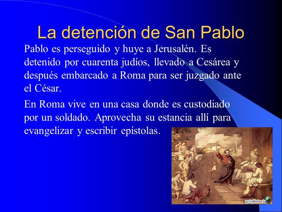 La detención de San Pablo