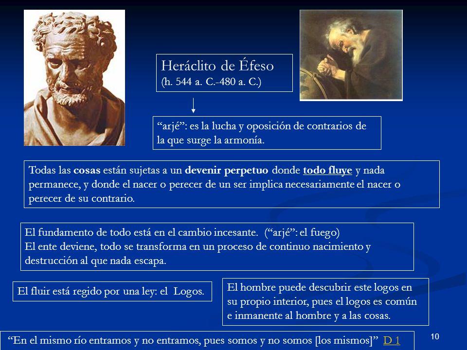 Heráclito de Éfeso (h. 544 a. C.-480 a. C.)