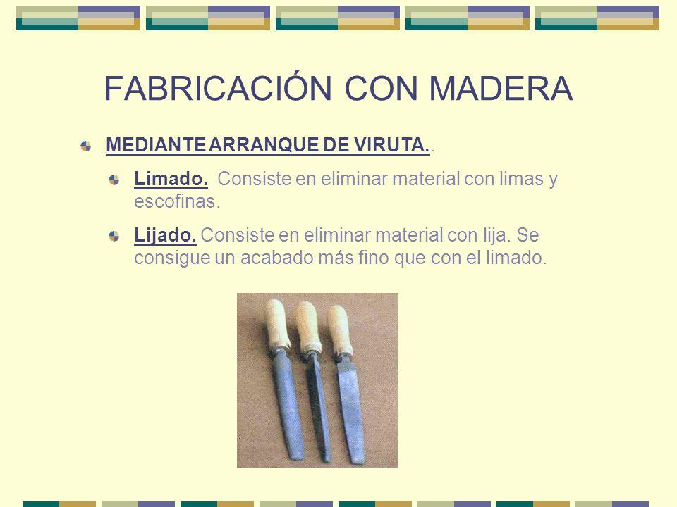 FABRICACIÓN CON MADERA