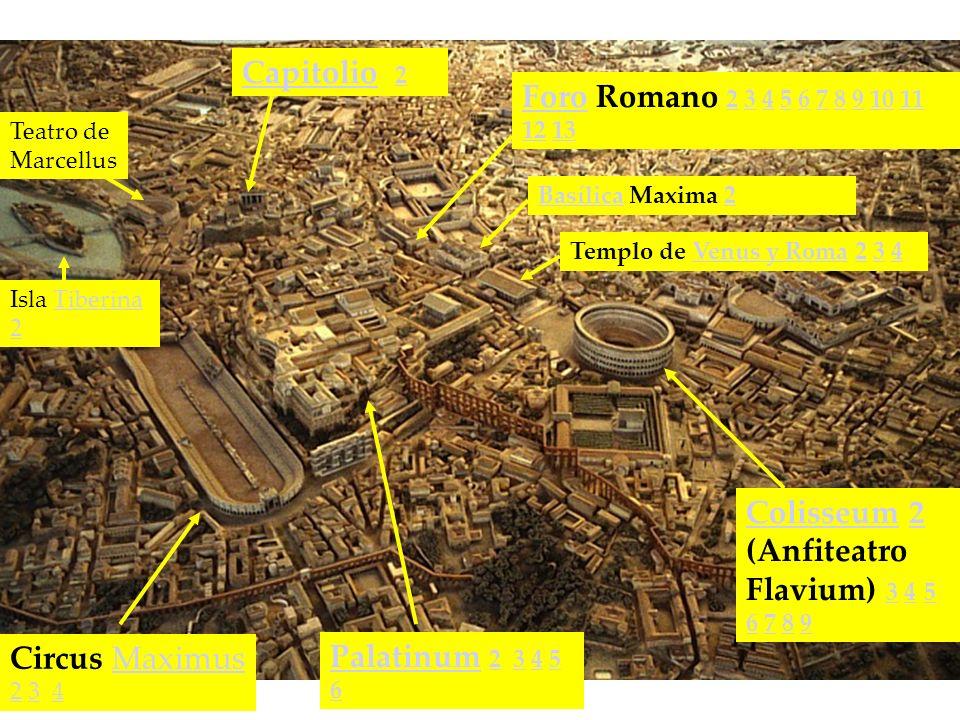 Colisseum 2 (Anfiteatro Flavium) 3 4 5 6 7 8 9