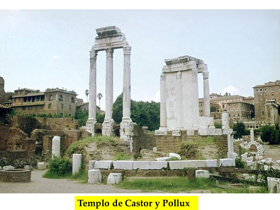 Templo de Castor y Pollux