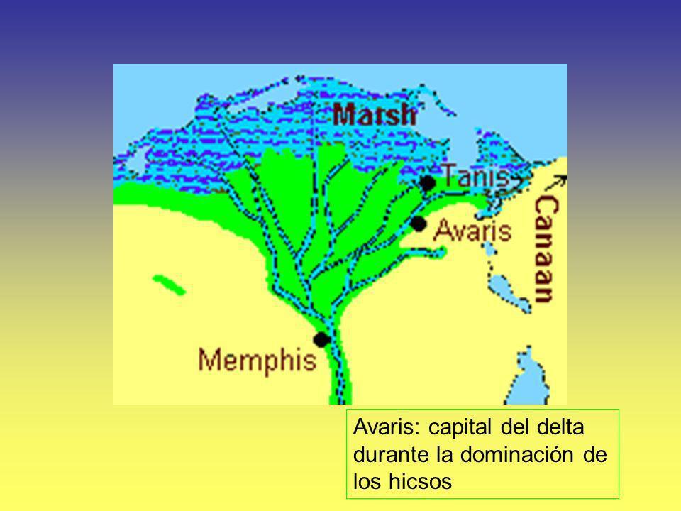 Avaris: capital del delta durante la dominación de los hicsos