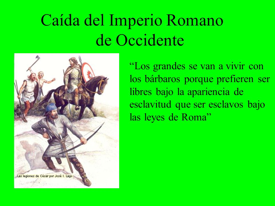 Caída del Imperio Romano de Occidente