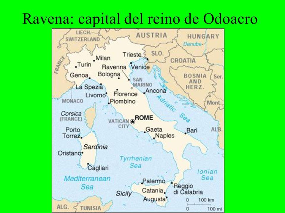 Ravena: capital del reino de Odoacro
