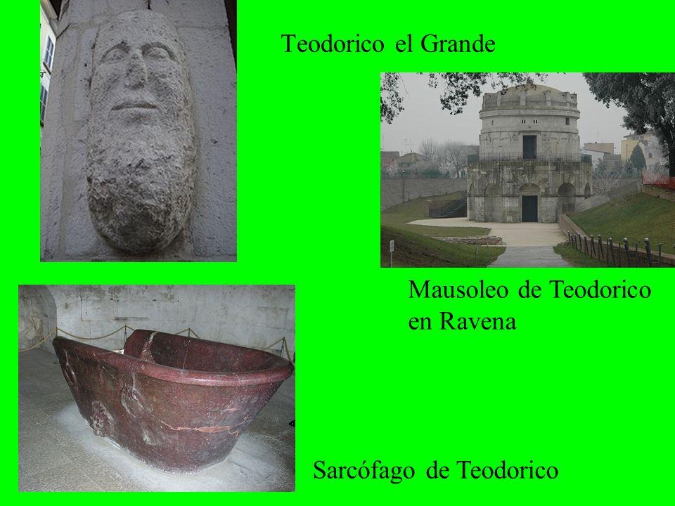 Teodorico el Grande Mausoleo de Teodorico en Ravena Sarcófago de Teodorico