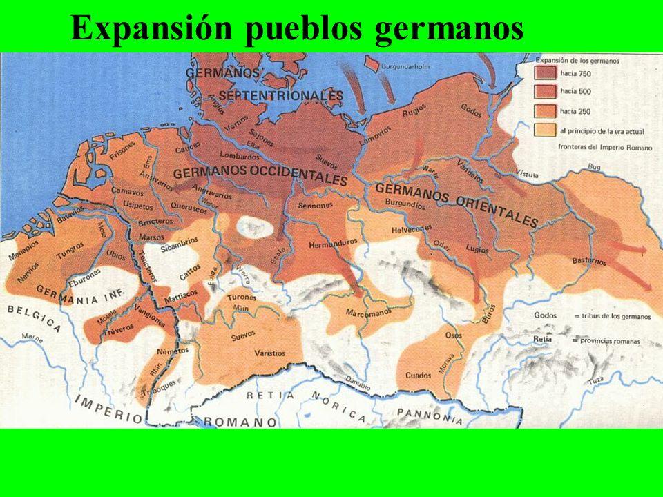 Expansión pueblos germanos