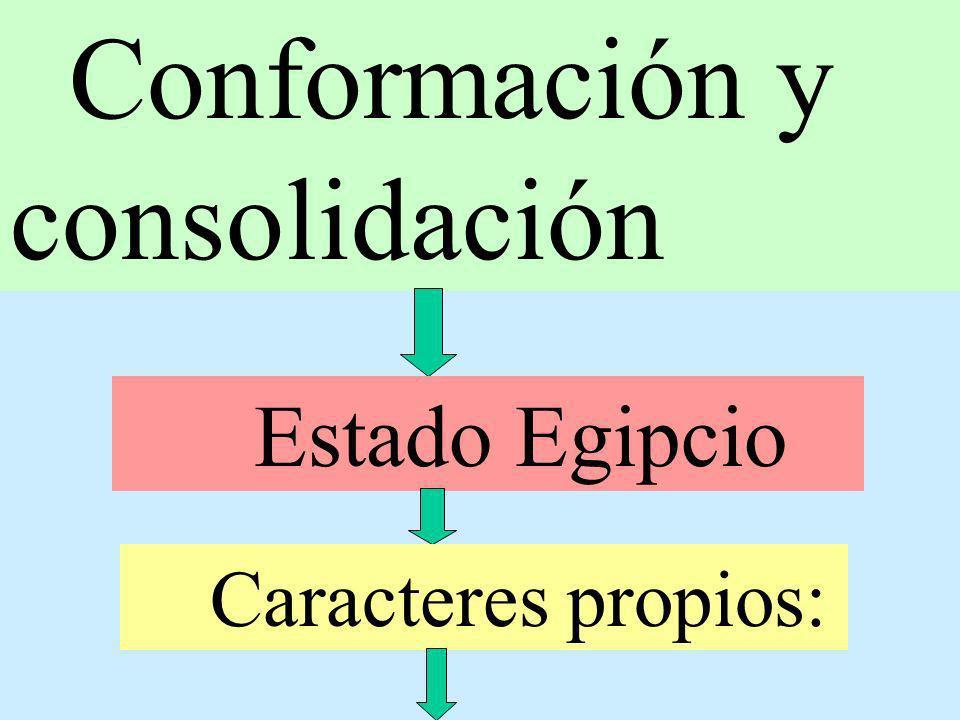 Conformación y consolidación