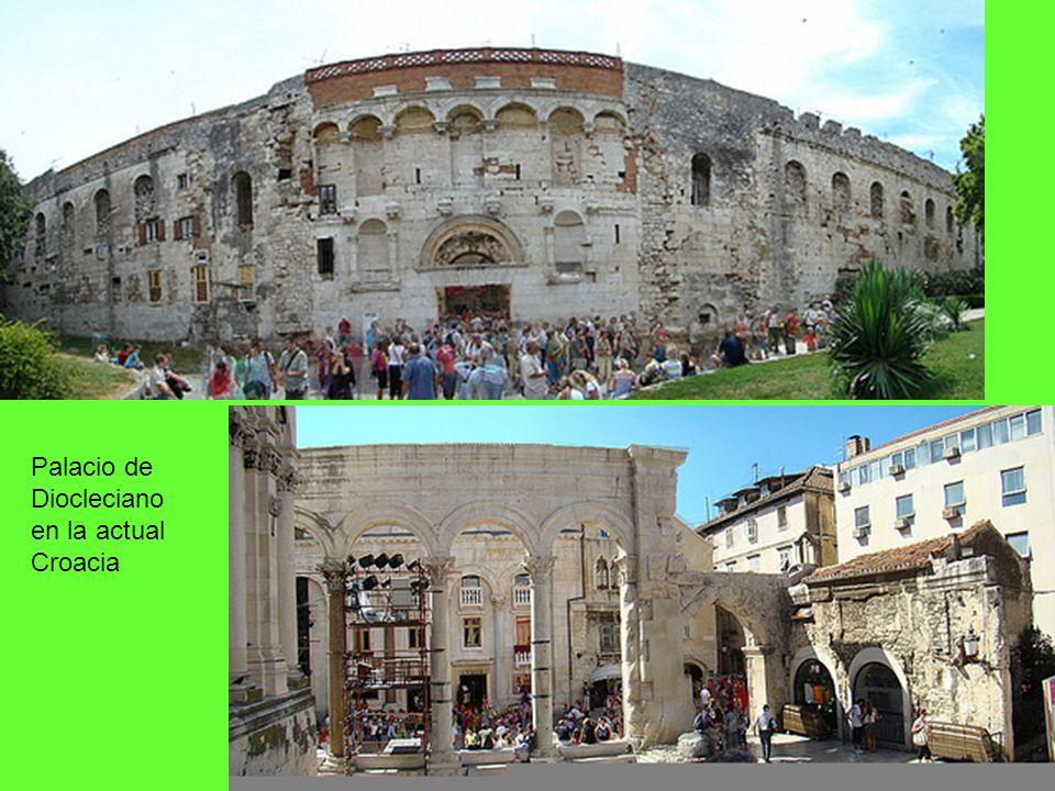 Palacio de Diocleciano en la actual Croacia