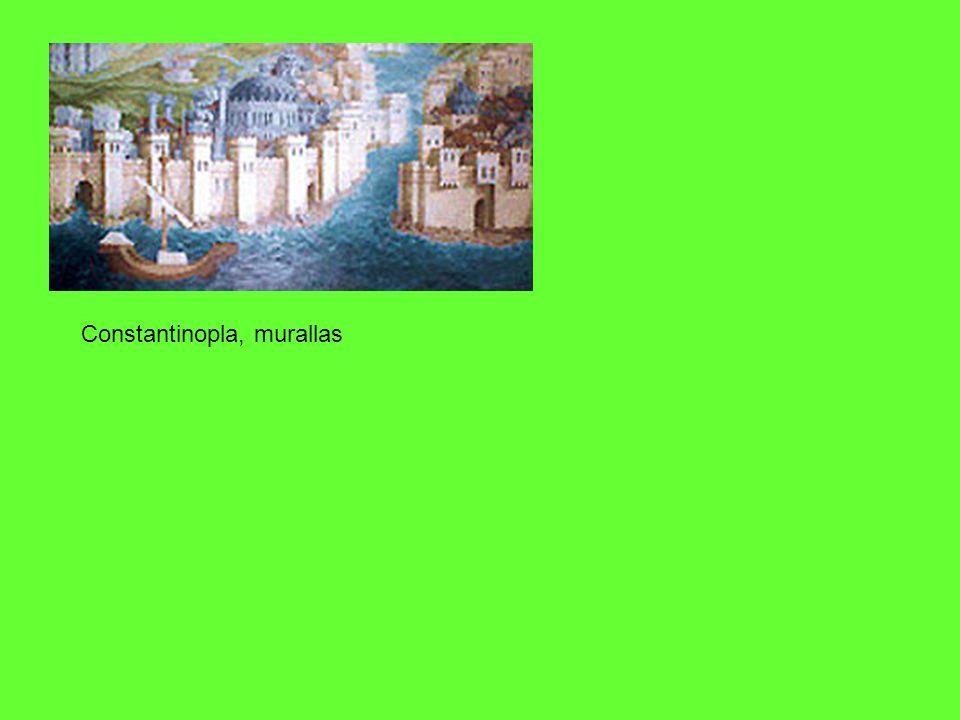 Constantinopla, murallas