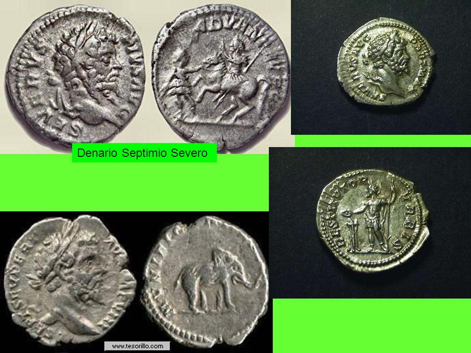 Denario Septimio Severo