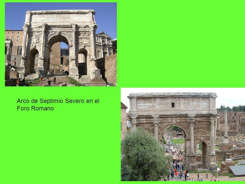 Arco de Septimio Severo en el Foro Romano