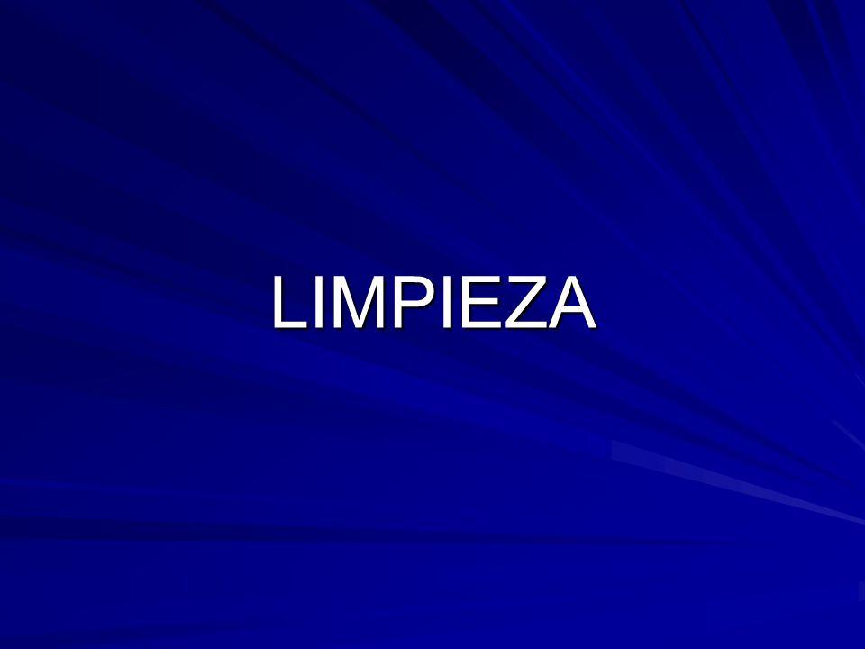 LIMPIEZA