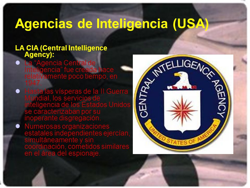 Agencias de Inteligencia (USA)