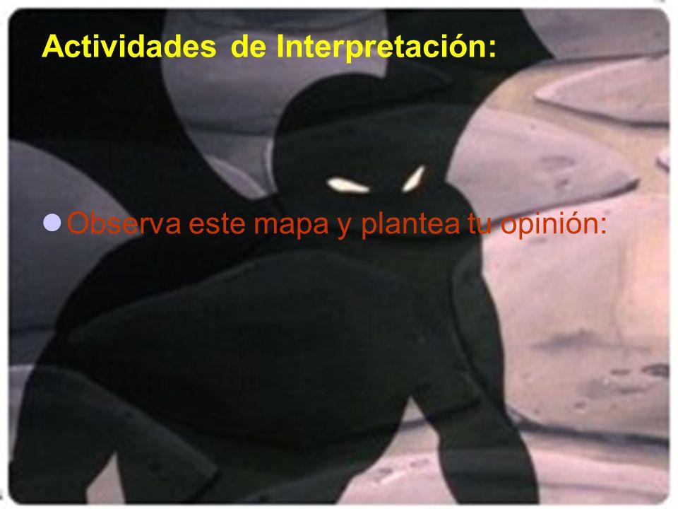 Actividades de Interpretación: