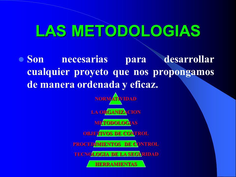 TECNOLOGIA DE LA SEGURIDAD PROCEDIMIENTOS DE CONTROL