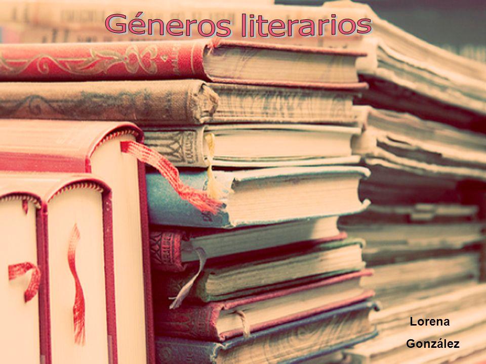 Géneros literarios Lorena González
