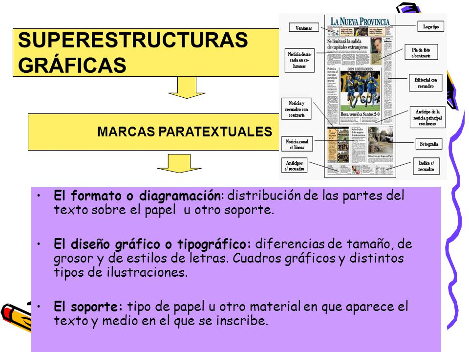 SUPERESTRUCTURAS GRÁFICAS MARCAS PARATEXTUALES