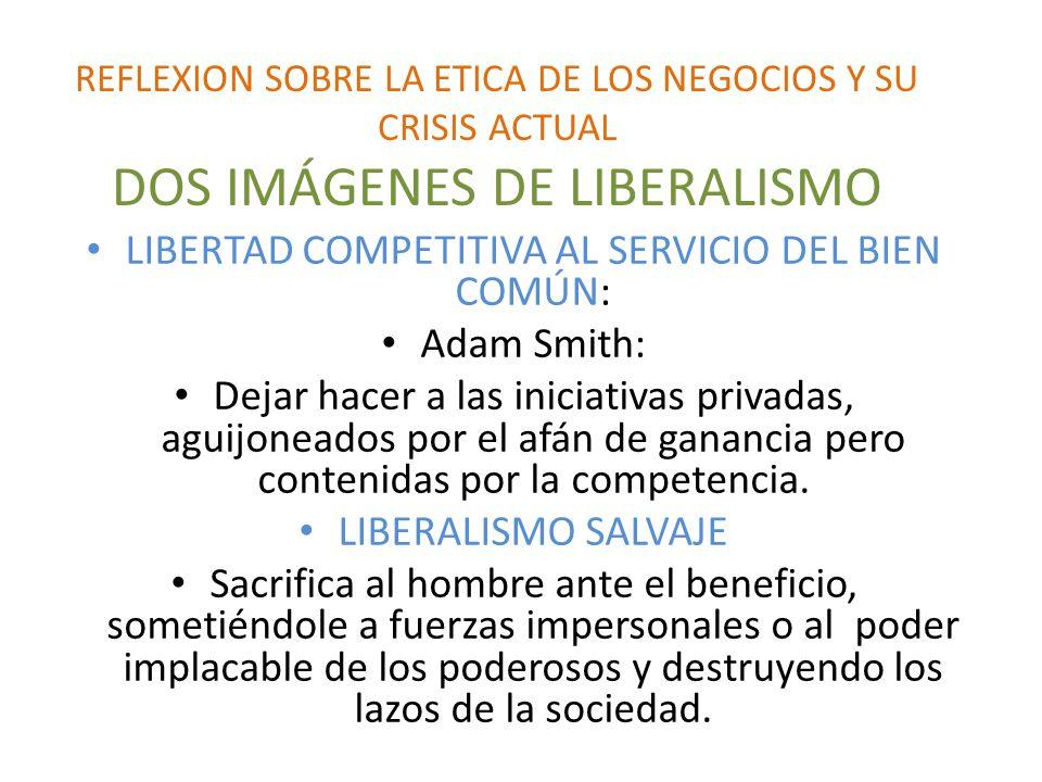 LIBERTAD COMPETITIVA AL SERVICIO DEL BIEN COMÚN: