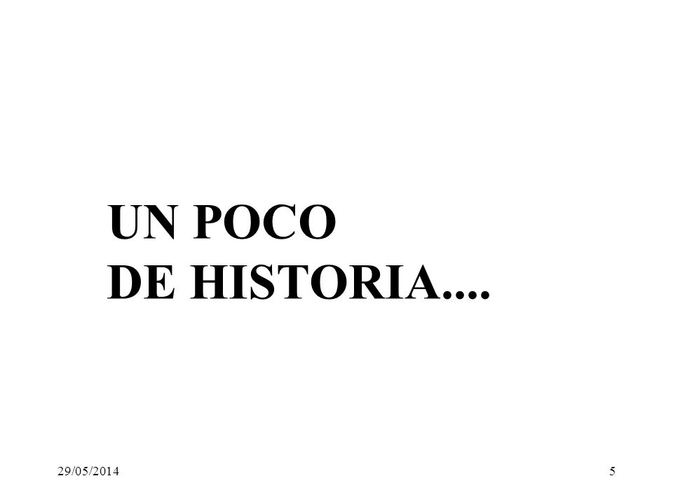UN POCO DE HISTORIA.... 31/03/2017