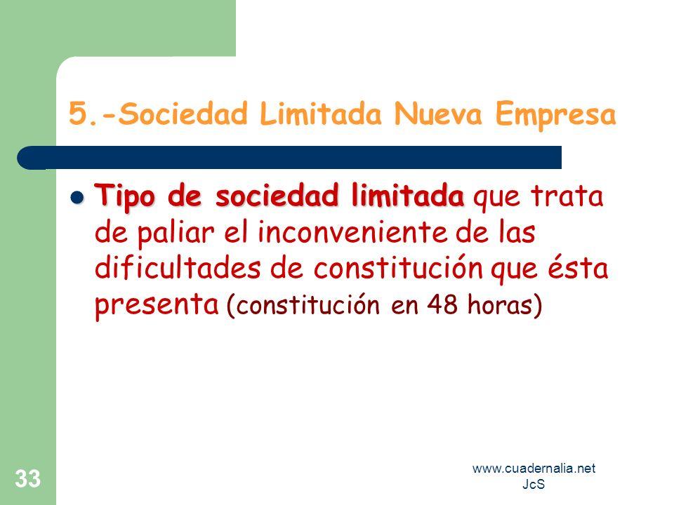 5.-Sociedad Limitada Nueva Empresa