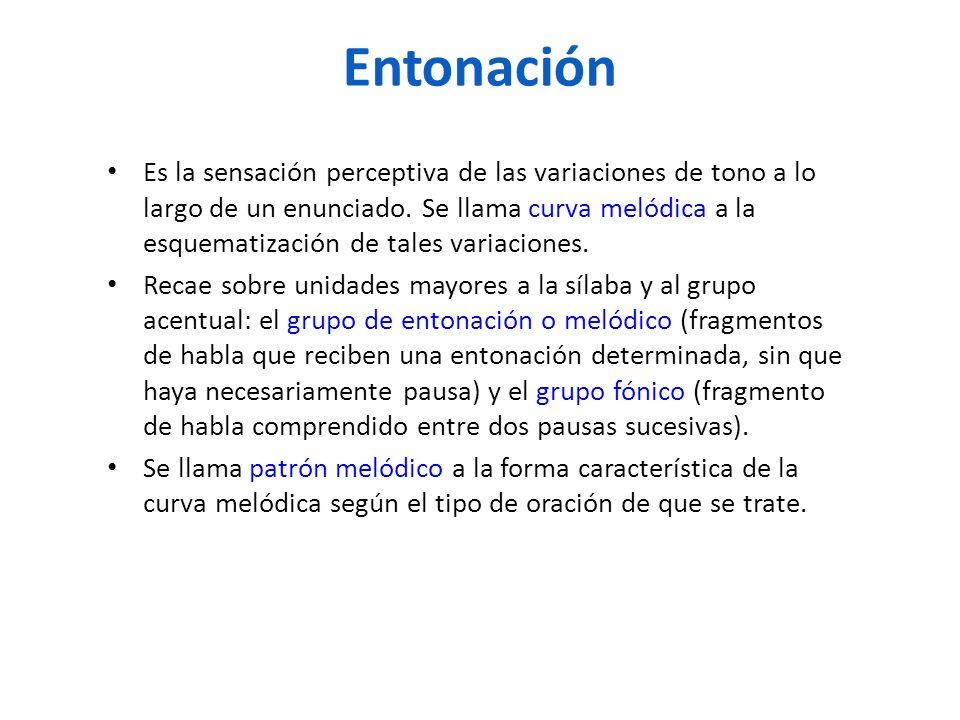 Entonación
