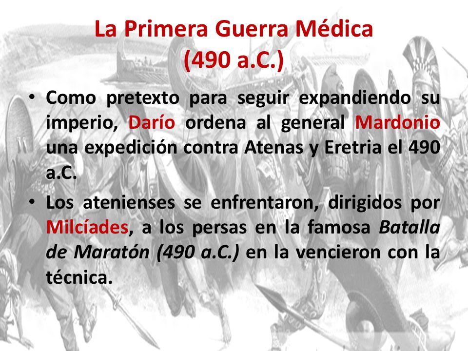 La Primera Guerra Médica (490 a.C.)