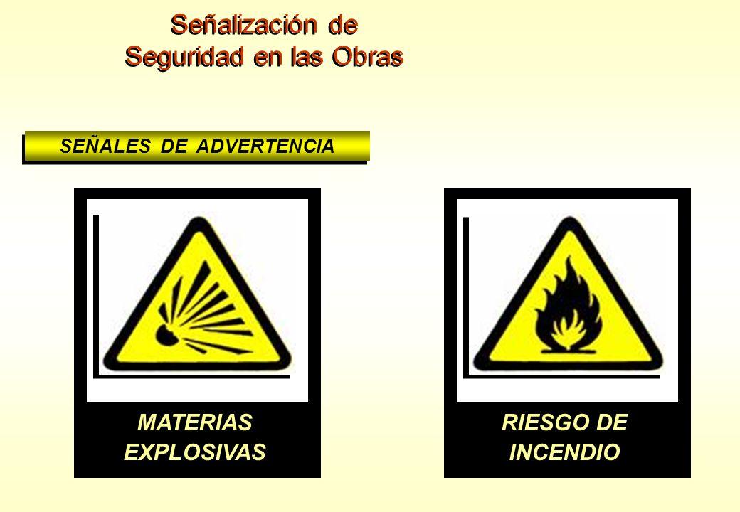 SEÑALES DE ADVERTENCIA PELIGRO INDETERMINADO