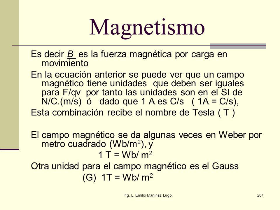 Ing. L. Emilio Martinez Lugo.