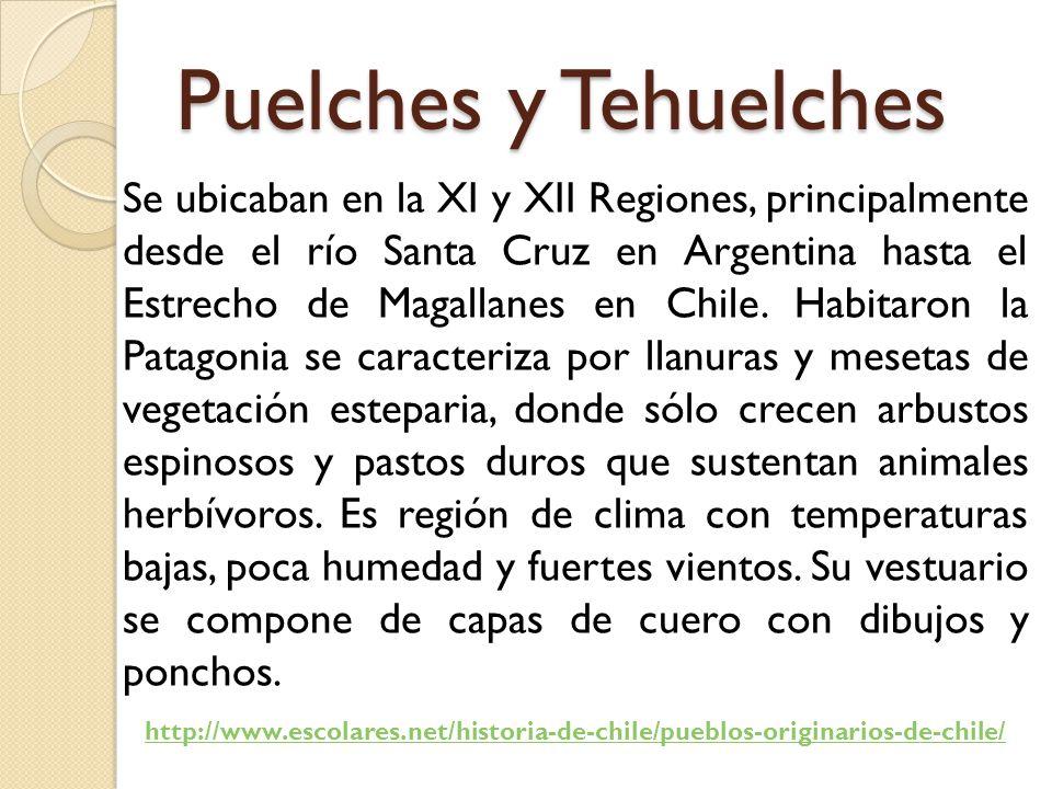 Puelches y Tehuelches