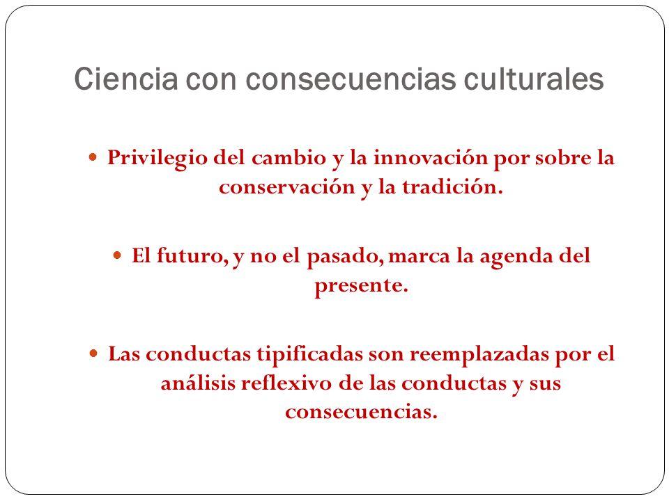 Ciencia con consecuencias culturales